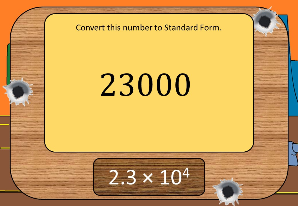 Ordinary Numbers to Standard Form - Shootout