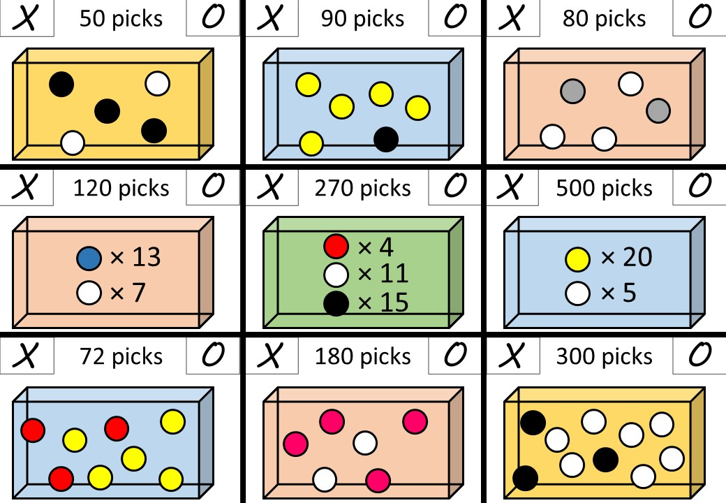 Probability - Expectation - Noughts & Crosses