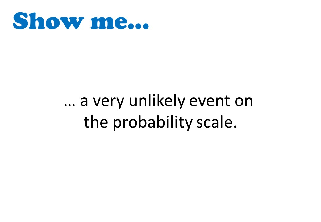 Probability Scale - Show Me