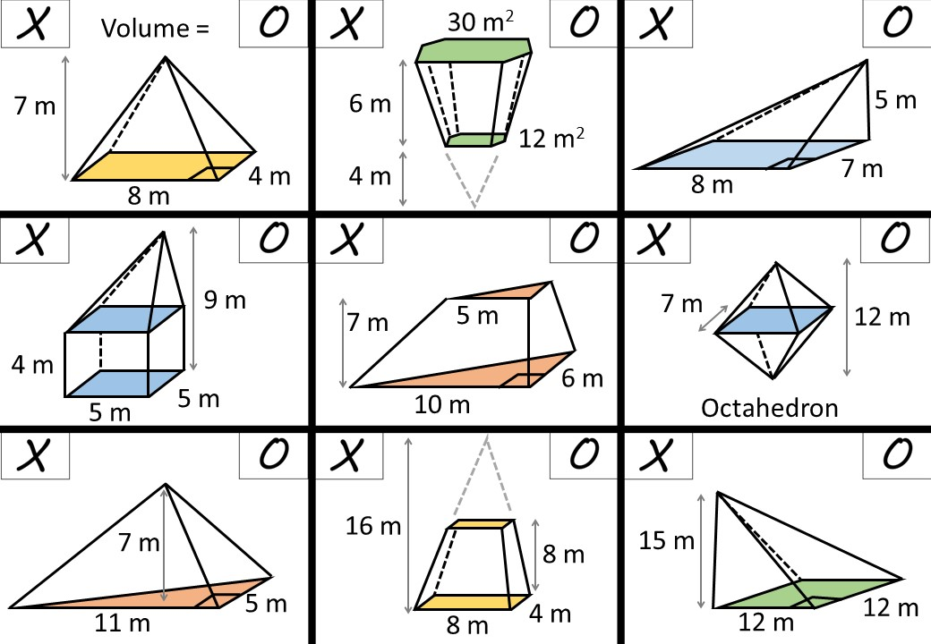 Pyramid - Volume - Noughts & Crosses