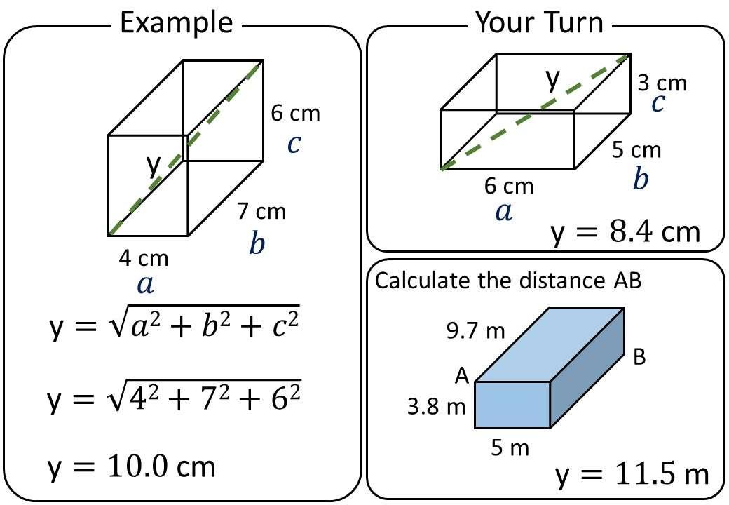 Pythagoras - 3D - Complete Lesson