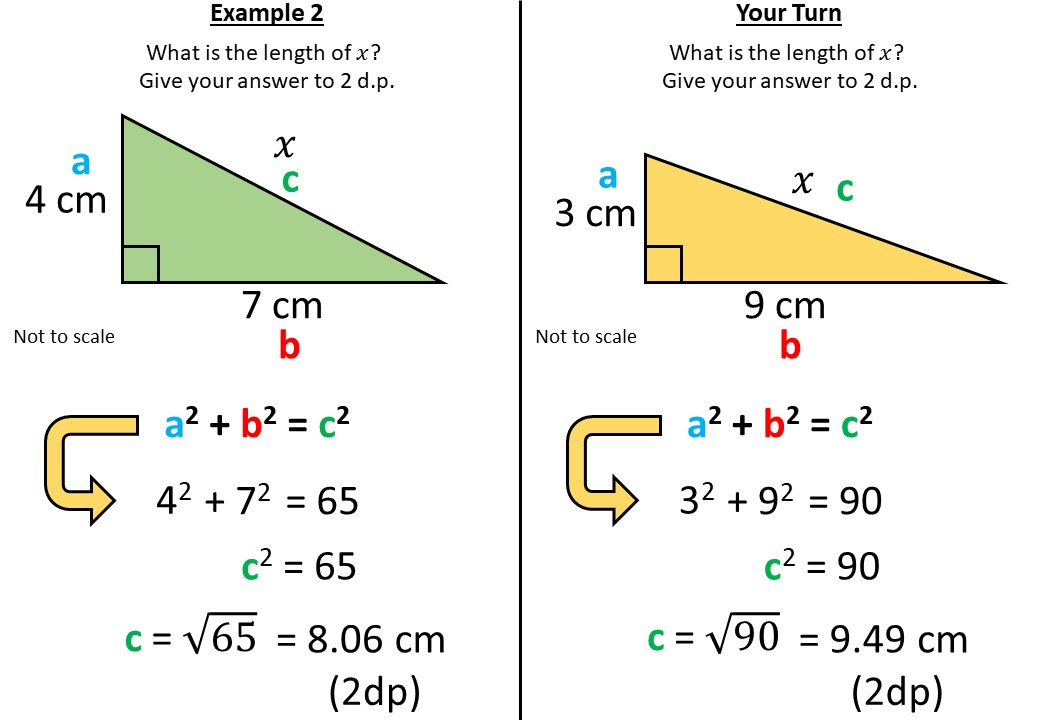 Pythagoras - Finding C - Complete Lesson