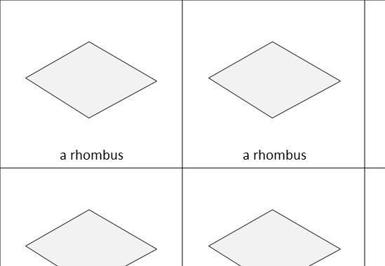 Quadrilaterals - Classifying - Guess