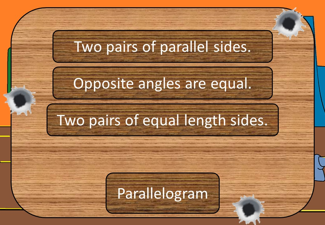 Quadrilaterals - Classifying - Shootout