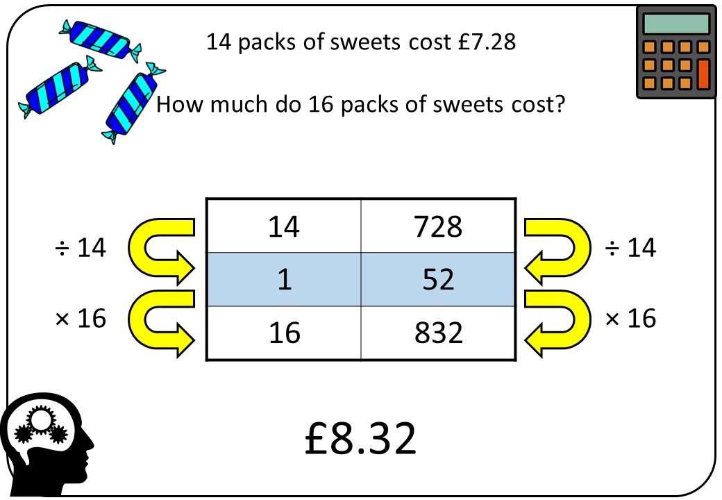 Real-Life Proportion - Calculator - Bingo M