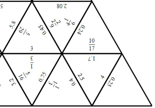 Reciprocals - Tarsia