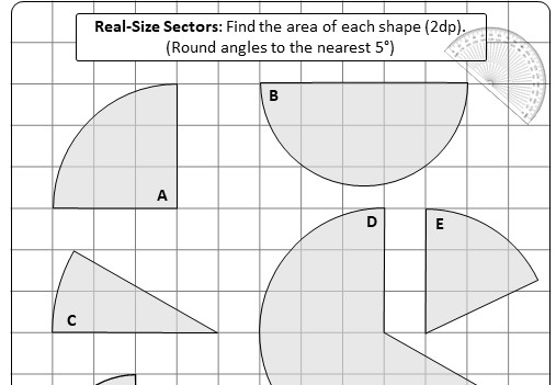 Sector - Area - Worksheet A