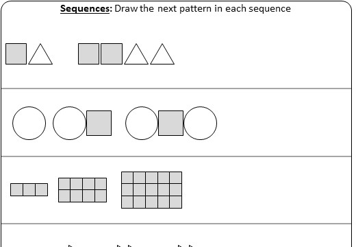 Sequences - Introduction - Worksheet A