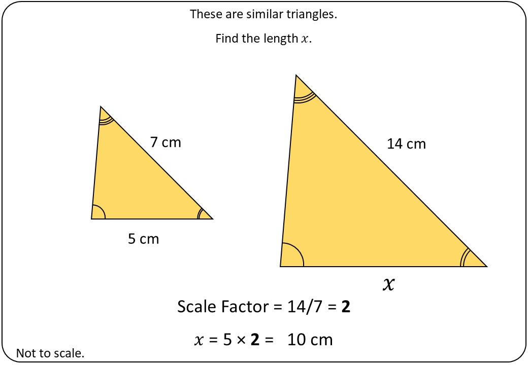 Similar Triangles - Demonstration