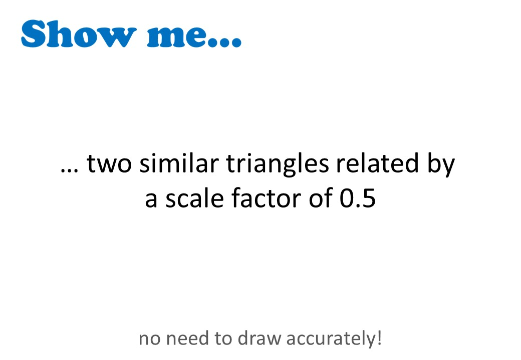 Similar Triangles - Show Me