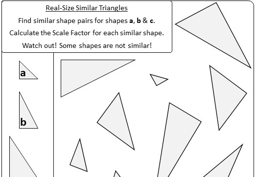 Similar Triangles - Worksheet A