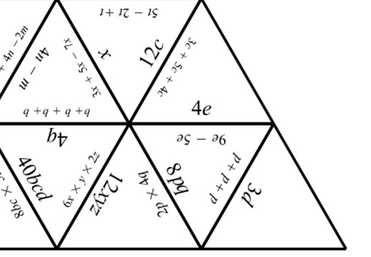Simplifying Expressions - Multiplying & Adding - Tarsia