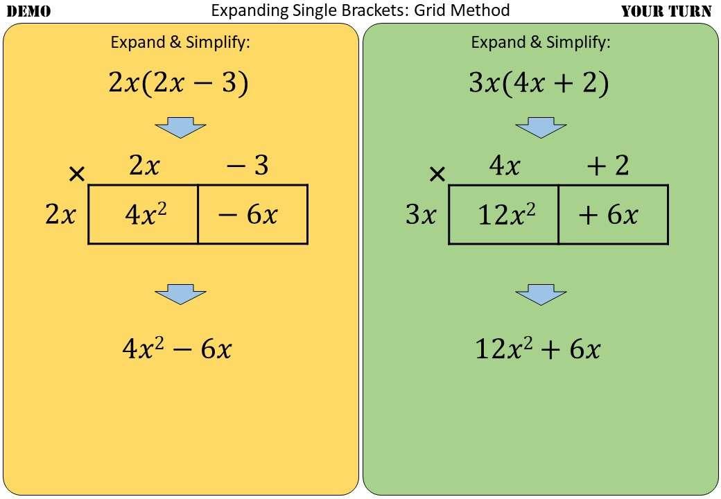 Single Brackets - Expanding - Mixed - Demonstration