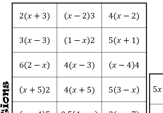 Single Brackets - Expanding - Mixed - Four in a Row