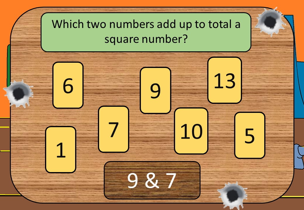 Square Numbers - Shootout