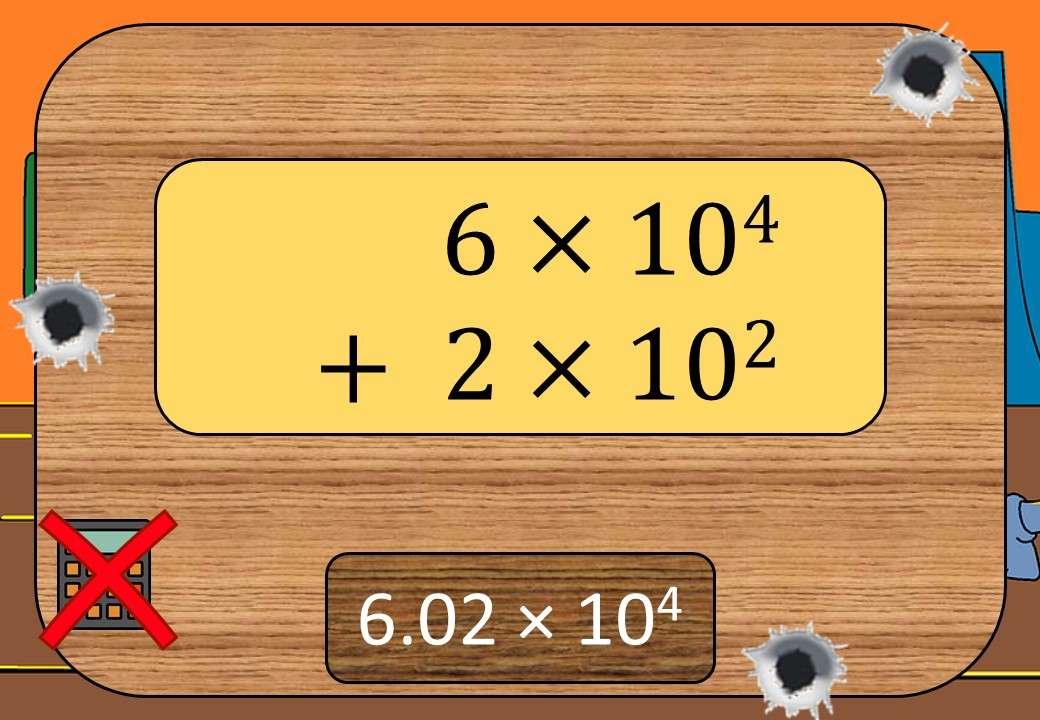 Standard Form - Adding & Subtracting - Non-Calculator - Shootout