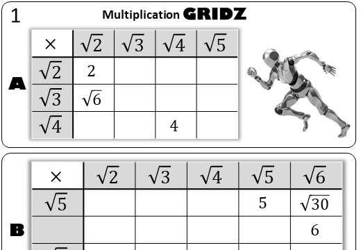 Surds - Gridz