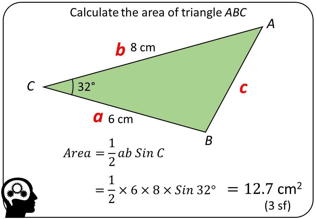Trigonometry - Area Rule - Bingo M
