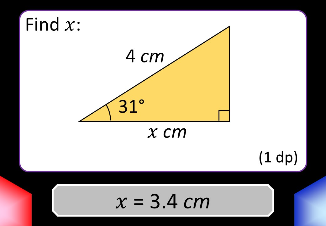 Trigonometry - Lengths - Blockbusters