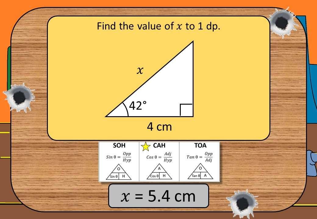 Trigonometry - Lengths - Shootout