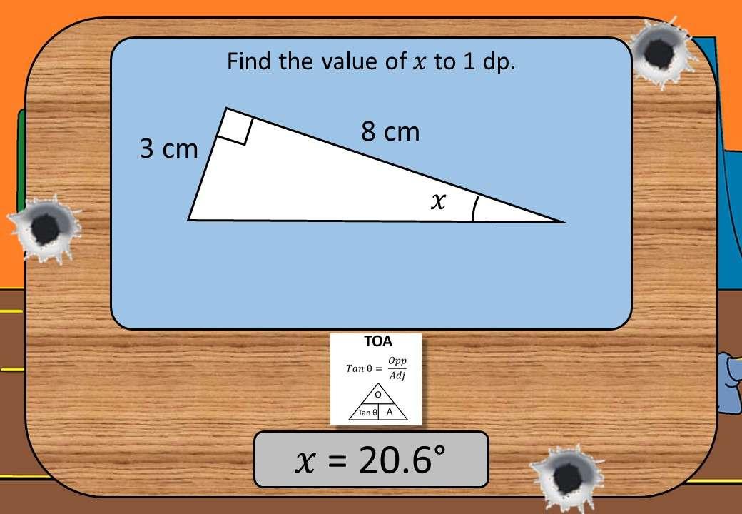 Trigonometry - Tangent - Shootout
