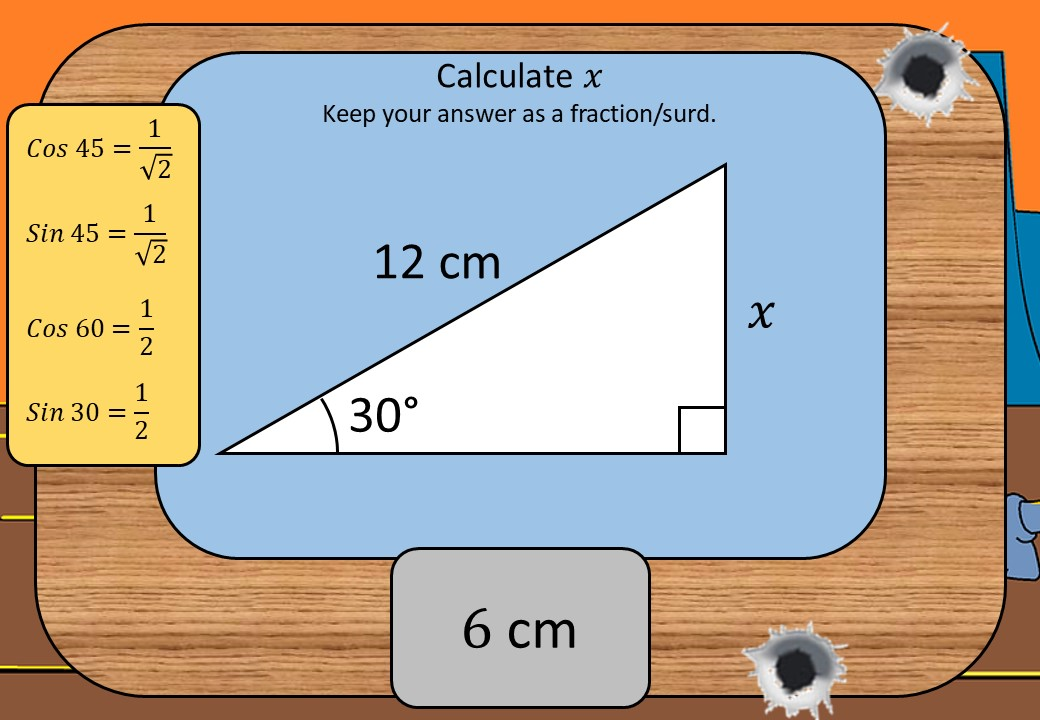 Trigonometry - Without a Calculator - Shootout