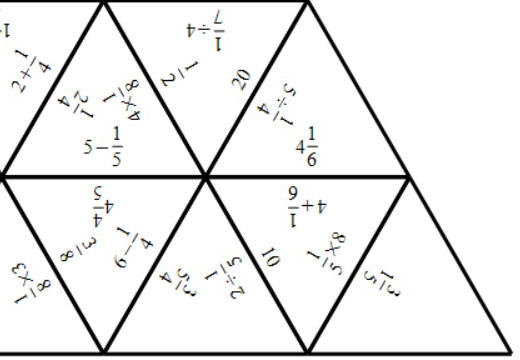 Unit Fractions - Arithmetic With Integers - Tarsia