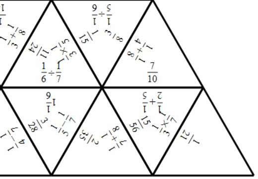Unit Fractions - Mixed Arithmetic - Tarsia