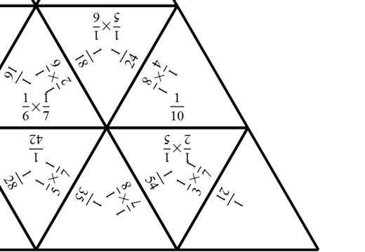 Unit Fractions - Multiplying - Spot the Mistake