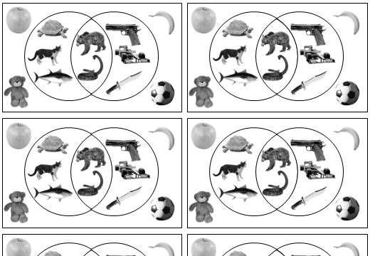 Venn Diagrams - Notation - Card Complete & Match