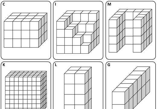 Volume - 3D Shapes - Card Match