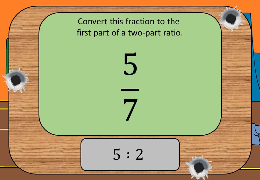 Equivalence - Fractions & Ratios - Shootout