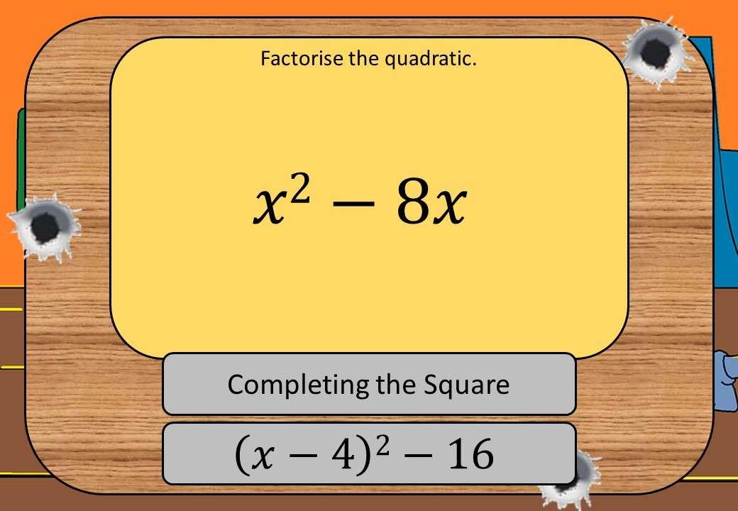 Quadratic Factorisation - Mixed - Shootout