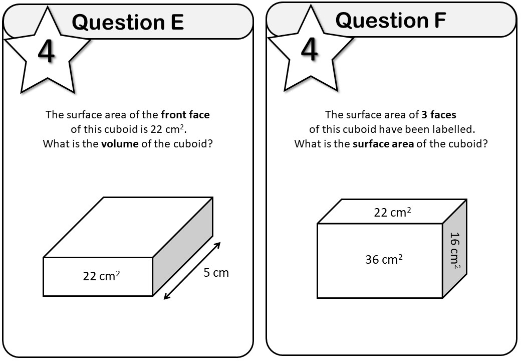 Volume & Surface Area - Foundation - Messenger