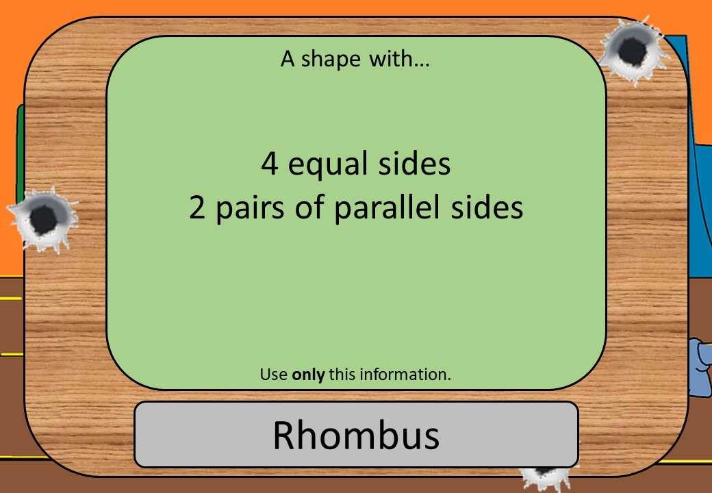 Classifying 2D Shapes - Shootout