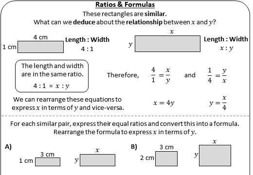 Comparing Ratios - Worksheet B