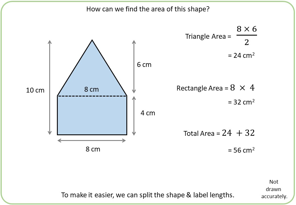 Polygonal Compound Shapes - Area - Demonstration