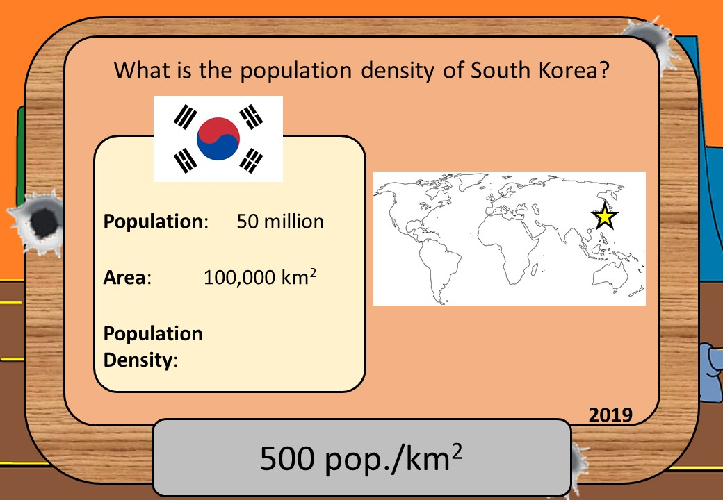 Population Density - Shootout