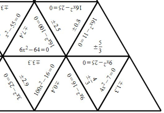Quadratic Equations - b = 0 - Tarsia