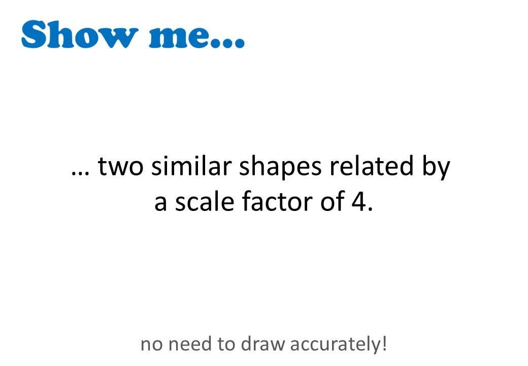 Similar Shapes - Show Me