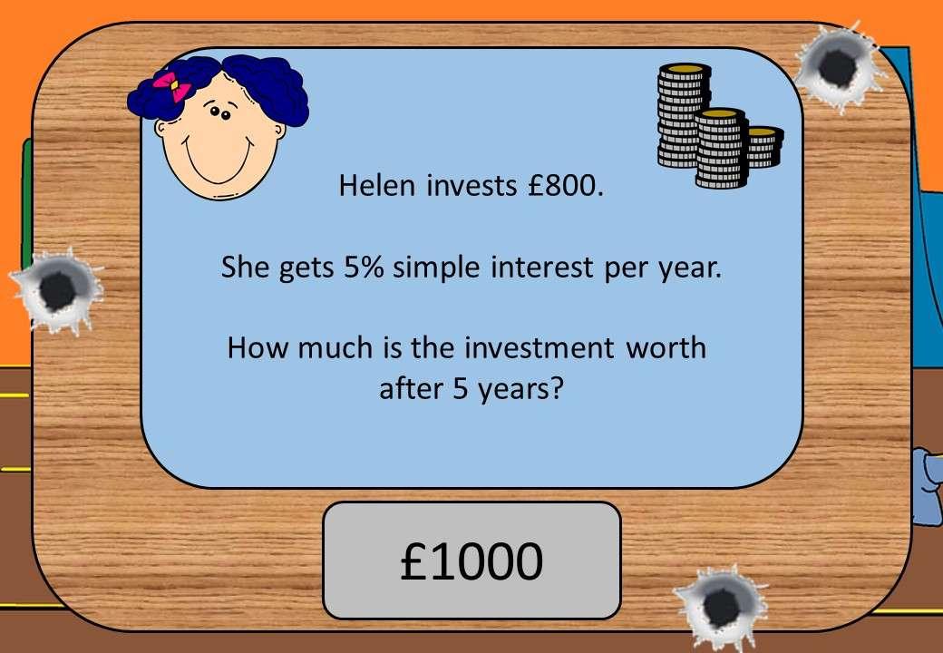 Simple Interest - Calculator - Shootout