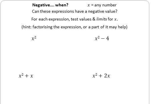 Algebraic Proofs - Worksheet C