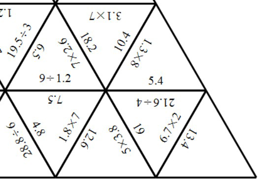 Decimals - With Integers - Multiplying & Dividing - Tarsia