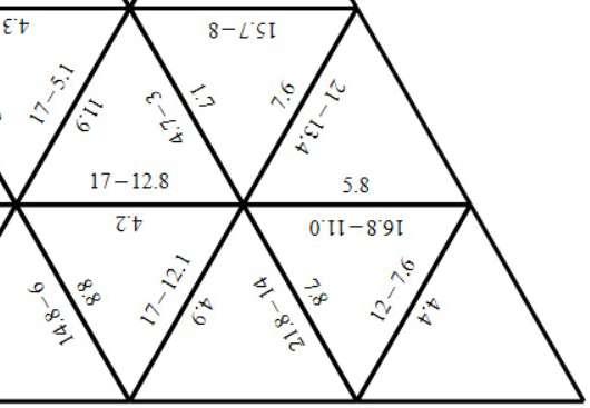 Decimals - With Integers - Subtracting - Tarsia