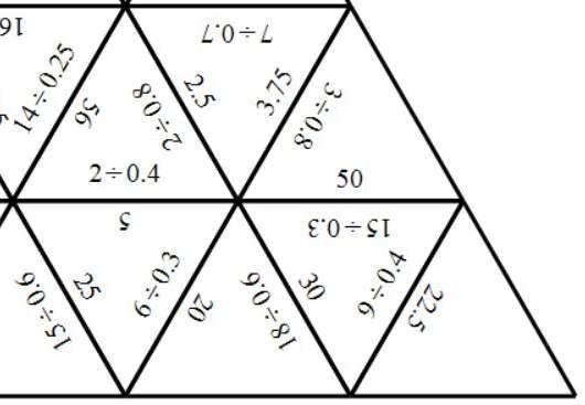 Dividing - Divisor Less Than 1 - Tarsia
