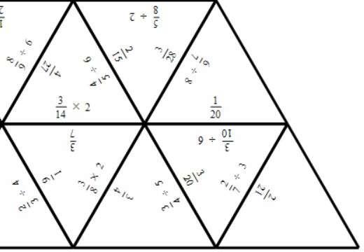 Equivalent Fractions - Calculations - Tarsia B