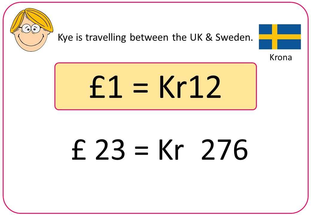 Exchange Rates - Non-Calculator - Bingo OA
