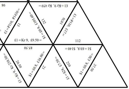 Exchange Rates - Non-Calculator - Tarsia