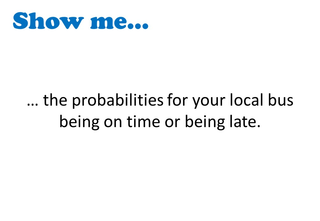 Probability - Exhaustive Events - Show Me
