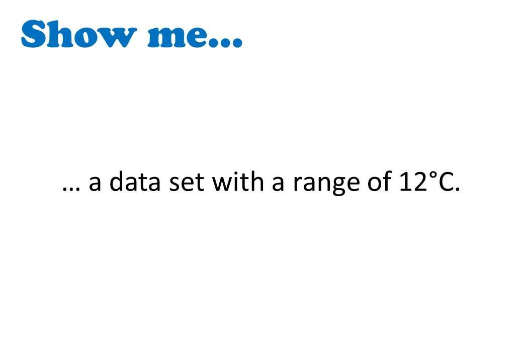 Range - Show Me